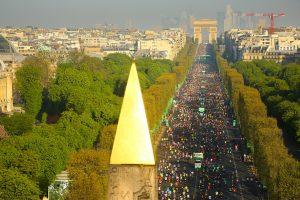 Paris Marathon overlook