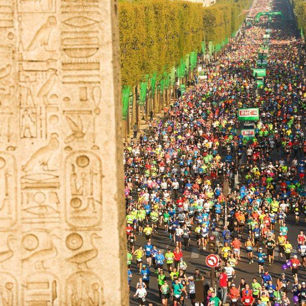 Paris Marathon Obelisk