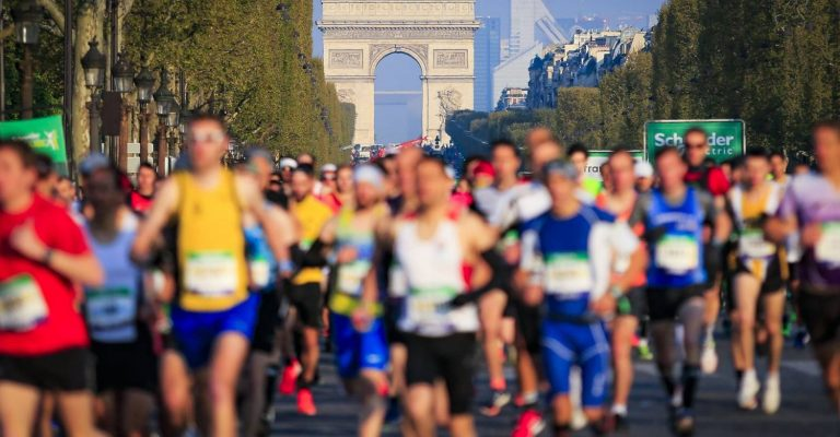 5th April 2020  - GUARANTEED ENTRY INTO PARIS MARATHON  - Experience Paris!