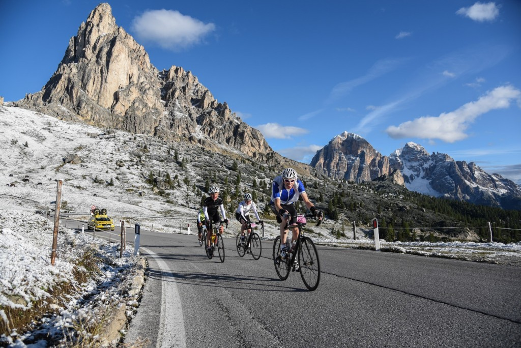 Haute route Alps course