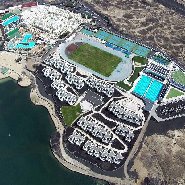 Aerial view of Club La Santa