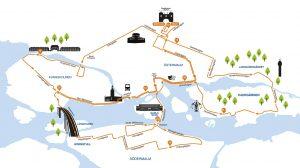 2018 Stockholm Marathon Course