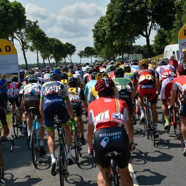 peloton in the country
