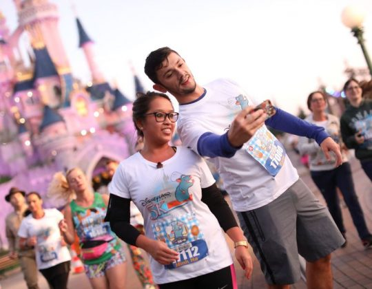Disneyland Paris Half Marathon Couple