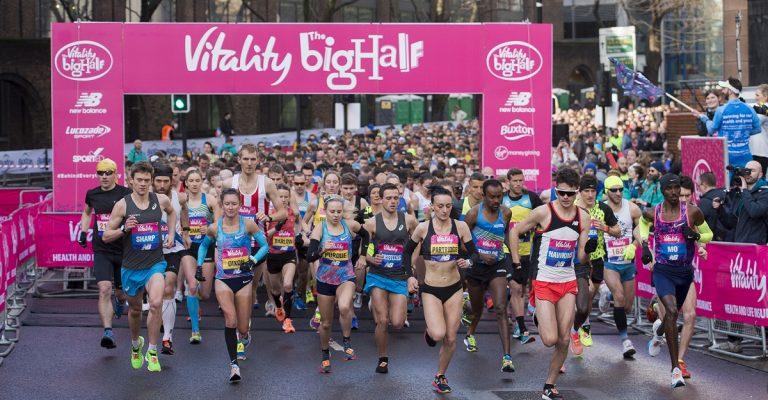 1ST MARCH - London Vitality Big Half  - Run this iconic half marathon !